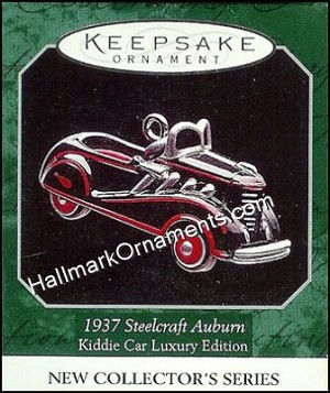 1998 1937 Steelcraft Auburn, Miniature Kiddie Car Luxury Edition #1