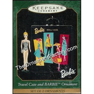 1999 Barbie Travel Case & Barbie,  Miniature