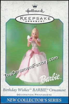 2001 Birthday Wishes Barbie #1