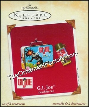 2002 GI Joe Lunchbox  Set