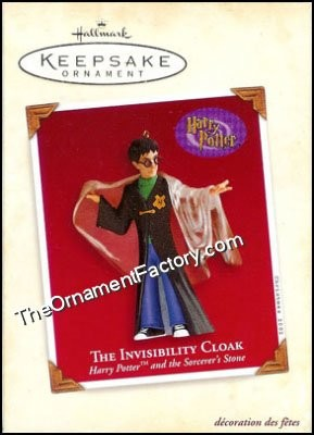 2002 Invisibility Cloak, Harry Potter - HARD TO FIND