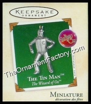 2002 Tin Man, The Wizard of Oz, Miniature