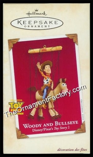 2002 Woody and Bullseye, Disneys Toy Story