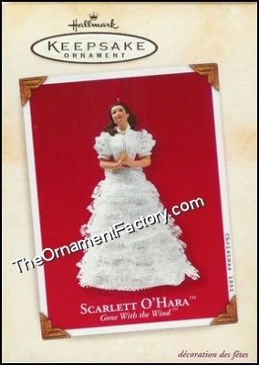 2002 Scarlett OHara, Gone With the Wind - DB