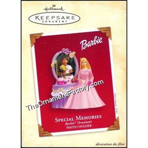 2003 Special Memories Barbie Photo Holder