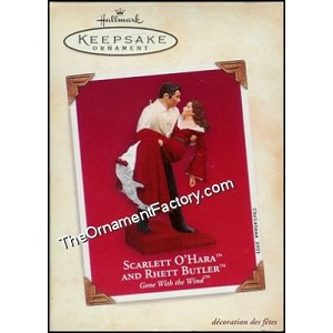 2003 Scarlett O'Hara and Rhett Butler, Gone With the Wind, RARE