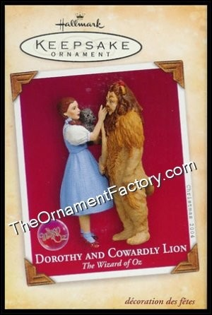 2004 Dorothy and Cowardly Lion, The Wizard of Oz