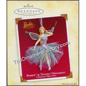 2005 Barbie as Titania Ornament, from A Midsummer Night's Dream