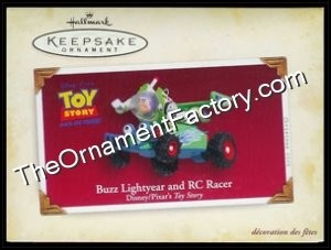 2005 Buzz Lightyear and RC Racer, Disneys Toy Story