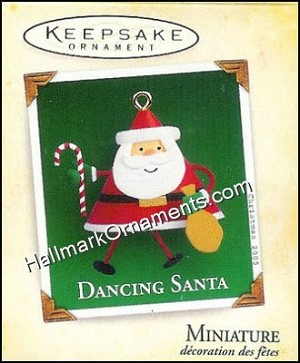 2005 Dancing Santa, Miniature