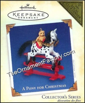 2005 A Pony for Christmas COLORWAY