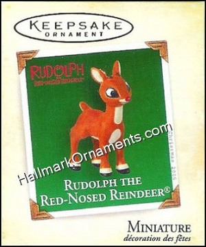 2005 Rudolph the Red Nosed Reindeer, Miniature