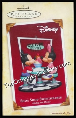 2005 Soda Shoppe Sweethearts, Mickey and Minnie Mouse, Disney