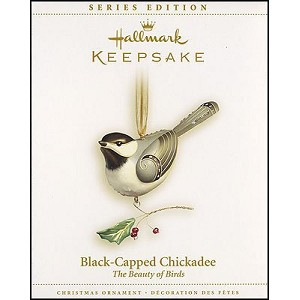 2006 Black Capped Chickadee, Beauty of Birds #2 - RARE