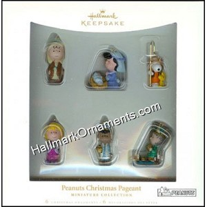 2006 Peanuts Christmas Pageant, Miniature