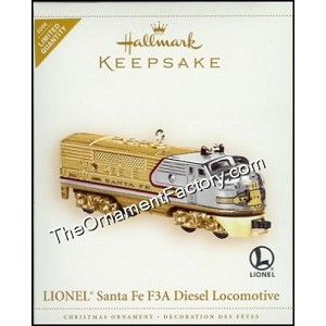 2006 Lionel 1950 Santa Fe COLORWAY