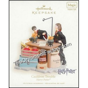 2007 Cauldron Trouble, Harry Potter, Magic - HTF