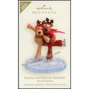 2007 Rodney and Rhonda Reindeer, Limited Quantity