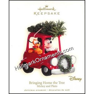 2008 Bringing Home The Tree, Disney