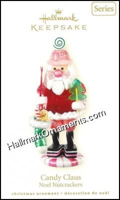 2008 Candy Claus, Noel Nutcracker #1