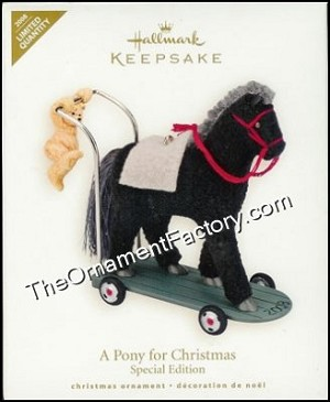 2008 Pony for Christmas Colorway Limited Quantity