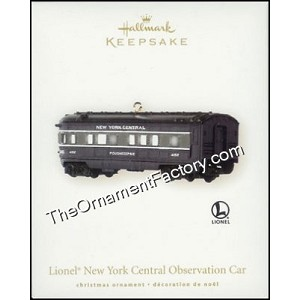 2008 Lionel New York Central Observation Car