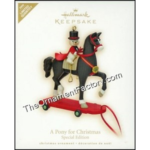 2009 A Pony for Christmas, LIMITED QUANTITY