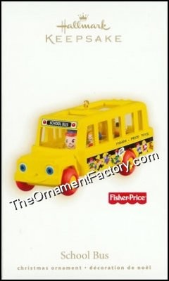 2009 School Bus, Fisher Price
