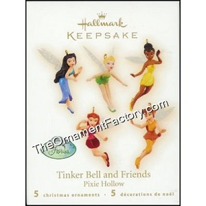 2009 Tinker Bell and Friends, Disney, Miniature