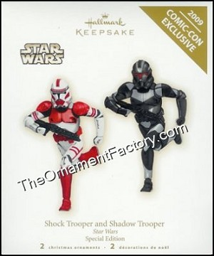 2009 Shock Trooper & Shadow Trooper, SDCC LIMITED QTY, Star Wars - RARE