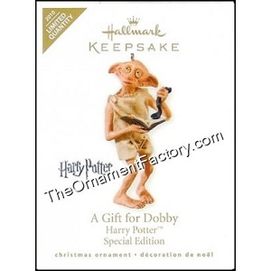 2010 Gift for Dobby, Harry Potter, LIMITED QUANTITY