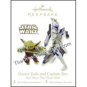 2010 Master Yoda and Captain Rex, Miniature, Star Wars