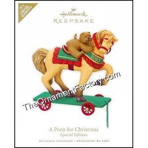 2010 Pony for Christmas, LIMITED QUANTITY