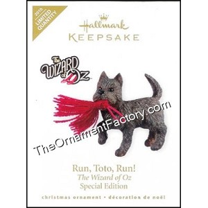 2010 Run Toto Run, The Wizard of Oz, LIMITED QUANTITY