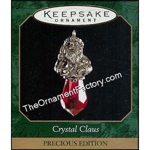 1999 Crystal Claus, Miniature