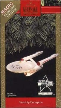 1991 Starship Enterprise, Star Trek - RARE - DB