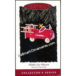 1995 Murray Fire Truck, Kiddie Car Classics #2