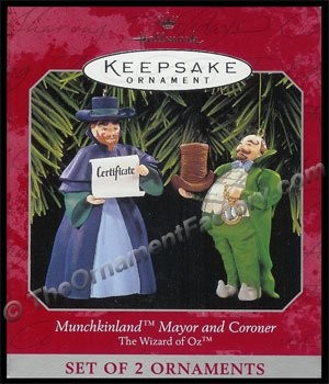 1998 Munchkinland Mayor and Coroner, The Wizard of Oz