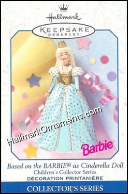 1999 Cinderella Barbie, Children's Collection Barbie #3 DB