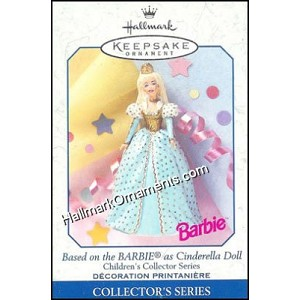 1999 Cinderella Barbie, Children's Collection Barbie #3