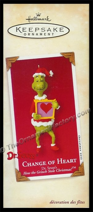 2002 Change of Heart, The Grinch