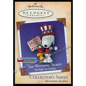 2004 Spotlight on Snoopy #7 - The Winning Ticket, PEANUTS