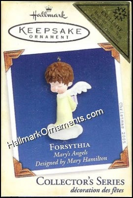 2005 Forsythia,  Marys Angels, COLORWAY - RARE