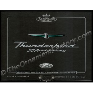 2005 Thunderbirds 50th Anniversary, Classic American Cars