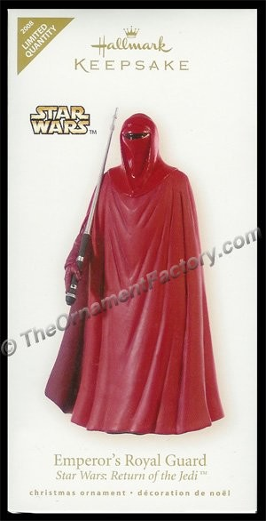 2008 Emperor's Royal Guard, Star Wars, LIMITED QUANTITY DB