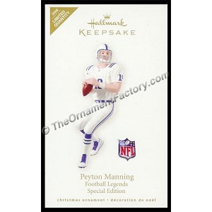 2008 Peyton Manning Limited Edition, Football Legends