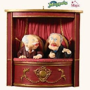 2008 Statler and Waldorf, The Muppets, Magic - RARE
