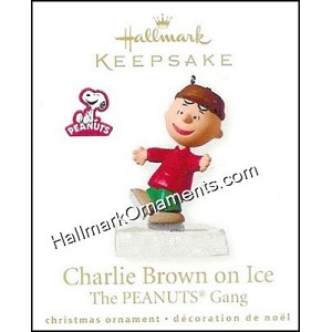 2010 Peanuts on Ice, Charlie Brown, Miniature