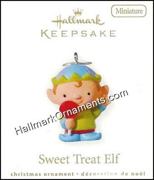 2010 Sweet Treat Elf, Miniature
