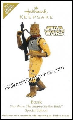 2011 Bossk, Star Wars, LIMITED QUANTITY